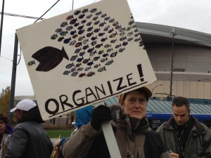 Steel Bridge Rally in Portland, November 17, 2011